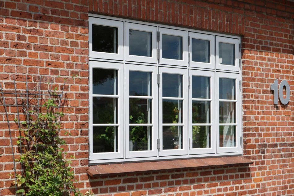 Idealcombi Nation IC vinduer med 23 mm stilsprosser