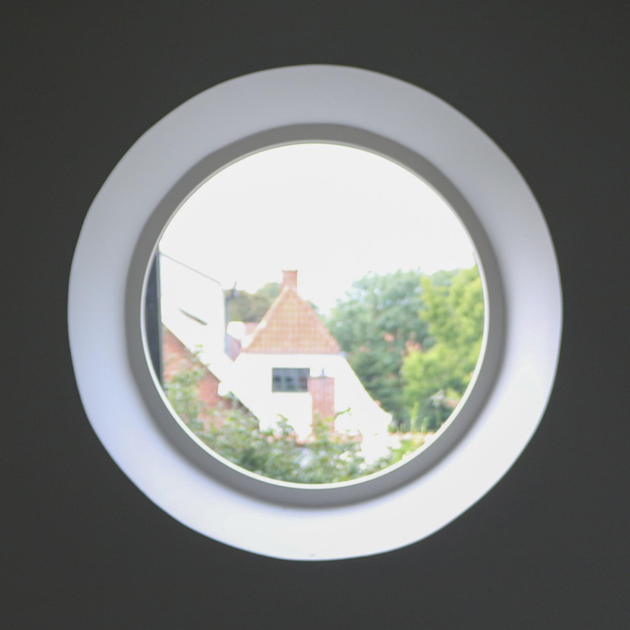 Rundt vindue indefra