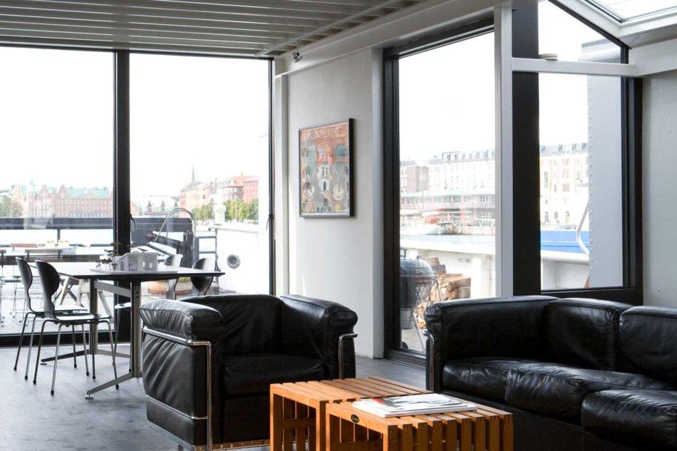 Husbåd med Futura+ vinduer fra Idealcombi