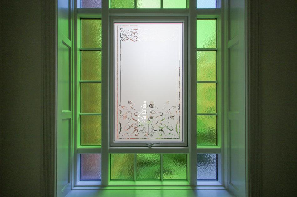 Ornamentglas og farvet glas - AB Kronen
