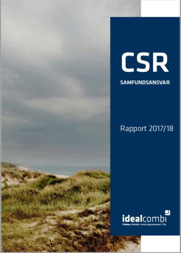 CSR-Rapport for Idealcombi 2017/2018
