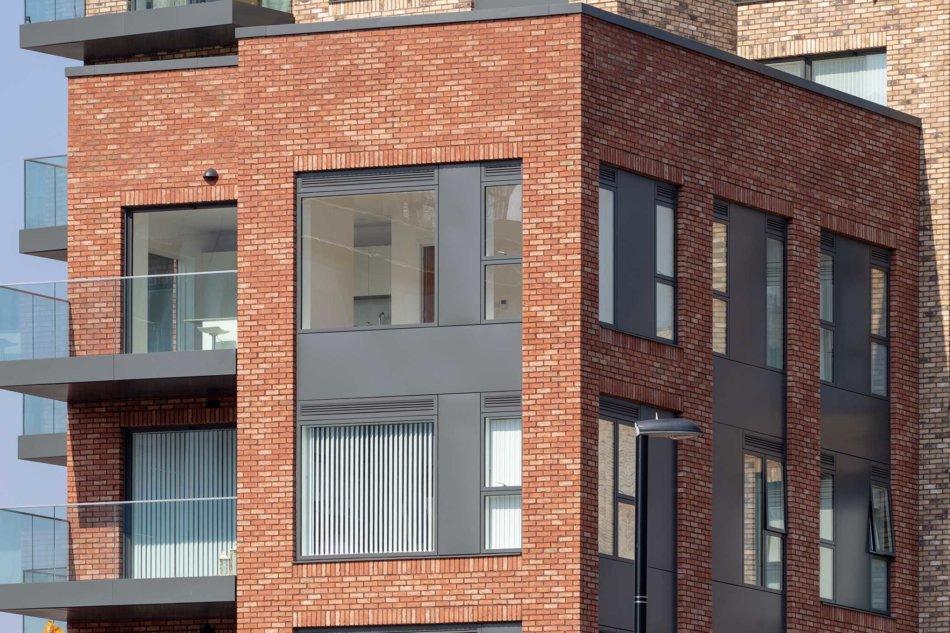 Galaxy House med Idealcombi Futura+ vinduer