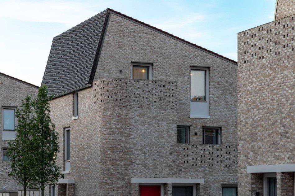 Goldsmith Street med Idealcombi vinduer - Passivhus