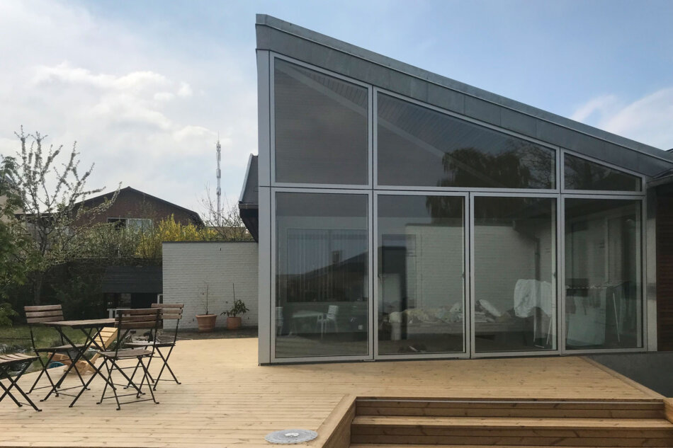 Udestue med Idealcombi Futura+ vinduer