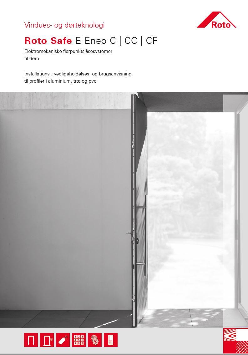 Installations-, vedligeholdelses- og brugsanvisning for Roto Safe