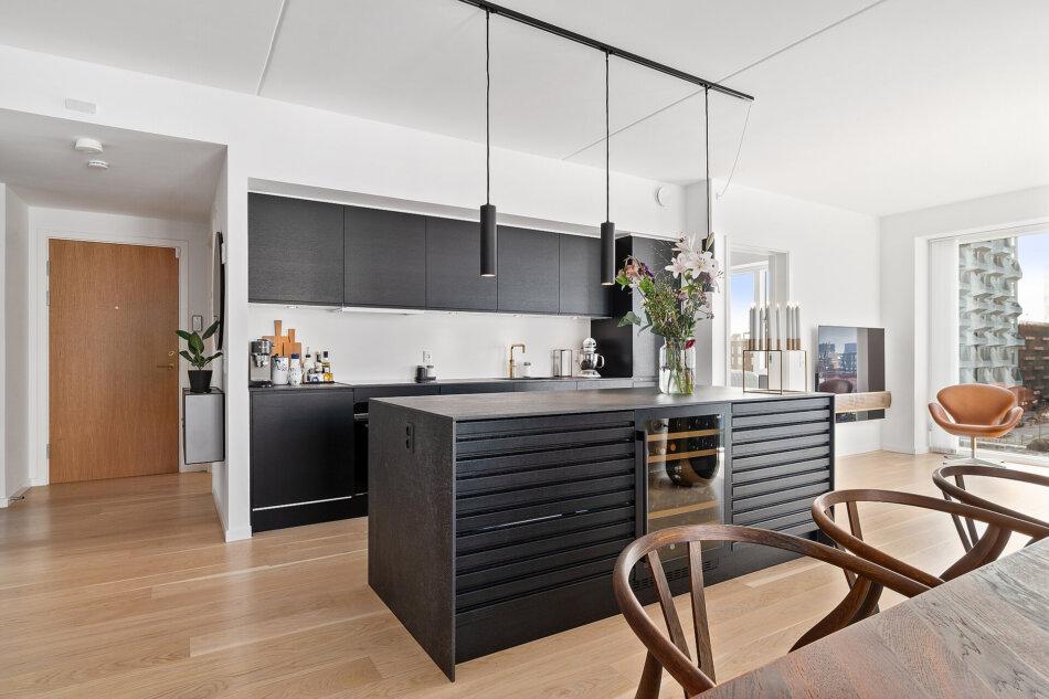 Penthouse i Nordhavn med Futura+ vinduer